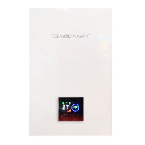 Termodinamik Dek 12 Kw Dokunmatik Panelli Elektrikli Kombi 10.320 Kcal/H