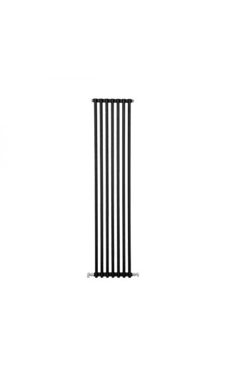 Notarad Cascade Dekoratif Alüminyum Radyatör(Siyah) 1600/600
