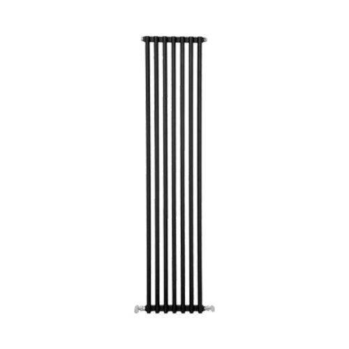 Notarad Cascade Dekoratif Alüminyum Radyatör(Siyah) 600/600